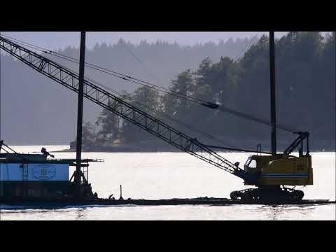 Island Marine tug boat and barge