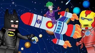 Мультфильм обучение. Супергероев LEGO изучают планеты. Мультфильмы для 5 лет. Новый ЛЕГО мультик