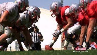 2014 Lobo Football | Spring Practice: First Day In Pads