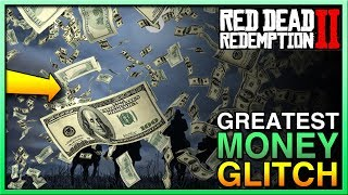 GREATEST Red Dead 2 Money Glitch - Red Dead Redemption 2 Money Glitch! BEST RDR2 Money Glitch