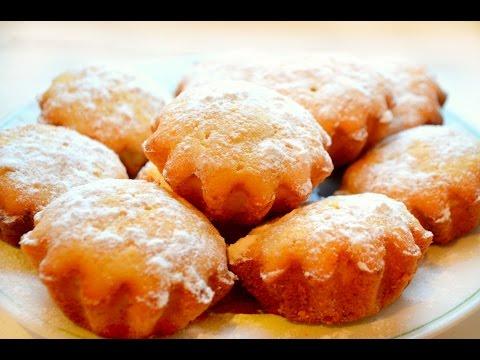 Рецепт творожных кексов.Очень мягкие и нежные!!!