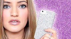 iPhone 5 glitter cases!