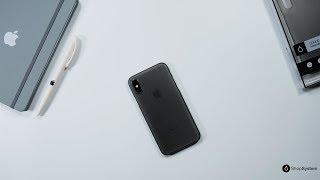 Coque ORIGINAL pour iPhone X, XS et XS Max - La plus fine du monde