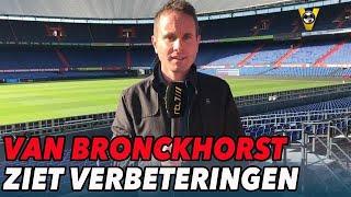 Van Bronckhorst ziet verbeteringen bij Feyenoord - VOETBAL INSIDE