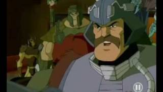 Man-at-arms wird böse