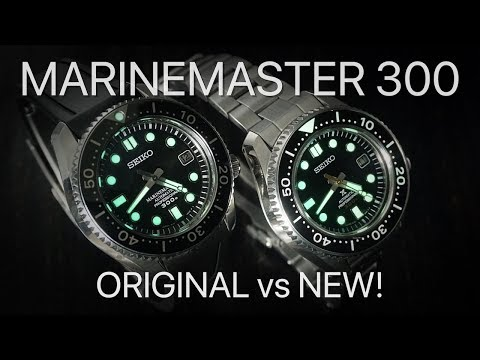 Seiko Marinemaster 300 - Original vs New!