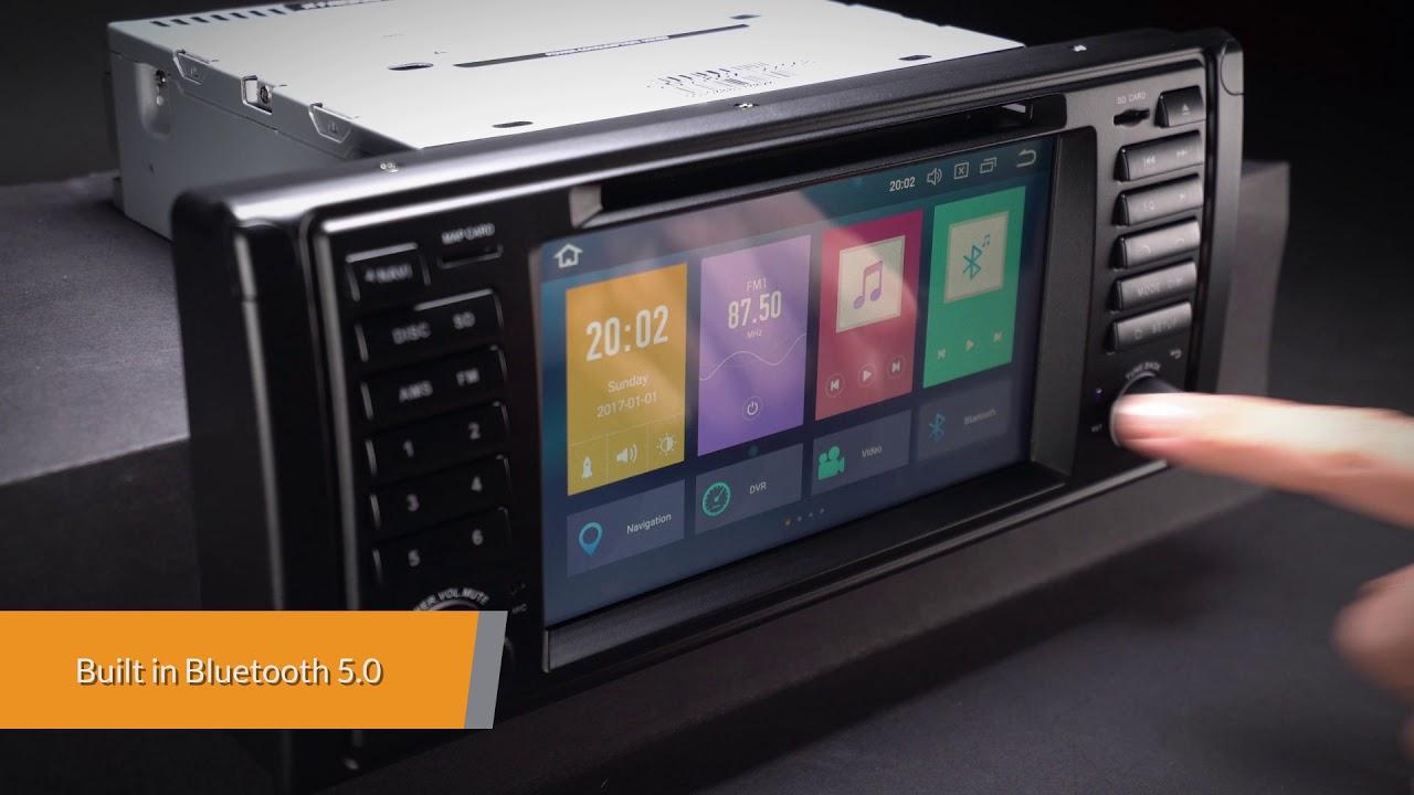 BMW - Android Oreo 8 0 Car Stereo (PB7839BP)