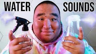 Water Sounds 10   ASMR   Spraying, Pouring, Swishing 💧💧