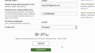 Регистрация и работа  на seosprint, Сеоспринте