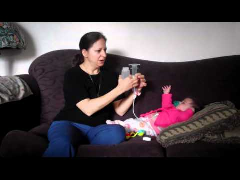 How to feed a g-tube baby