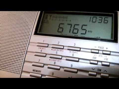 Bangkok Meteorological Radio (Bangkok, Thailand) - 6765 kHz (USB)