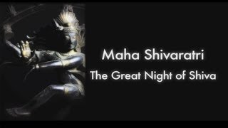 Maha Shivaratri 2014: The Great Night of Shiva