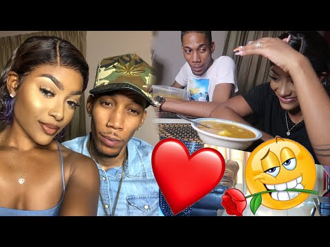 Date  Night + He Made Squid & Shrimp Soup    Vlog #3