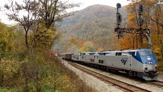 The New River Train Claremont, WV October 24th, 2015