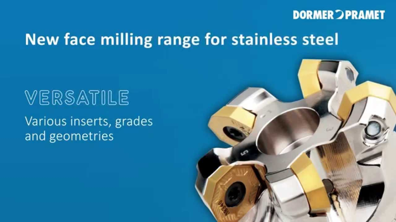 Pramet Face Milling Range For Stainless Steel Youtube