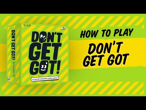 How to play: Don't Get Got – A Secret Missions Party Game by Big Potato