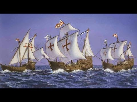 Social Studies Songs For Kids - Christopher Columbus Song - With Lyrics - Kids educational videos