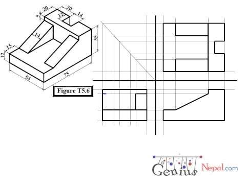 Engineering Drawing Tutorials / Orthographic Drawing so