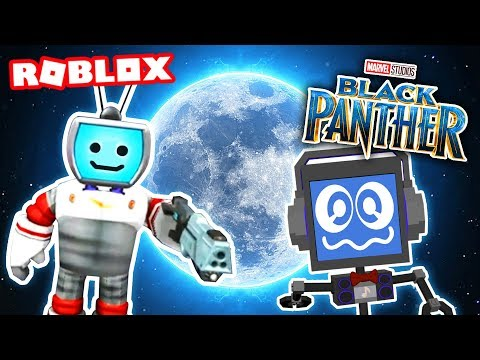 BLACK PANTHER Movie Tycoon in Roblox (MOON TYCOON) #2 ► Fandroid the Musical Robot! |