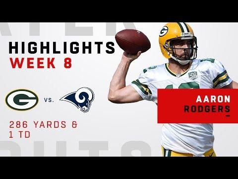 Aaron Rodgers Highlights vs. Rams