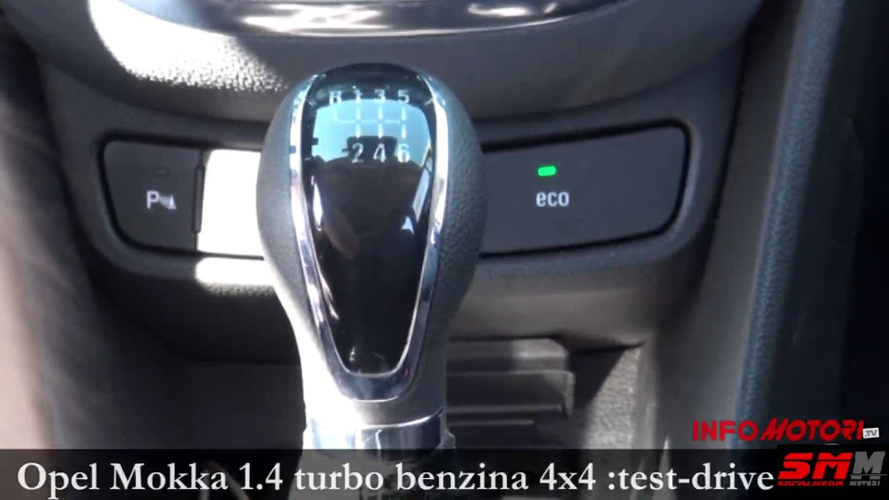 opel mokka 4x4 1 4 turbo benzina test drive youtube. Black Bedroom Furniture Sets. Home Design Ideas