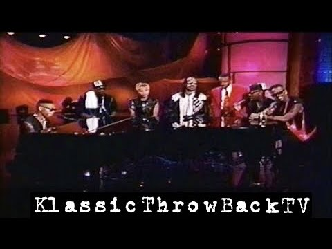 "Jodeci, Mary J. Blige & Stevie Wonder - ""You Will Know"" Live (1992)"