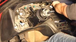 MKIV Toyota Supra Dash Removal (paint)