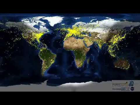 World Air Traffic 24hr