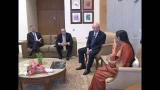 Delegation from Ford Motor Company meet Hon. CM