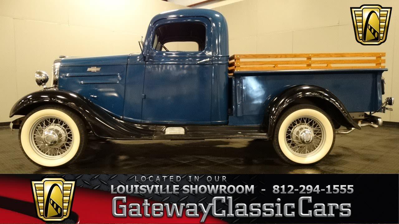1936 Chevrolet Pickup Truck - Louisville Showroom - Stock ...