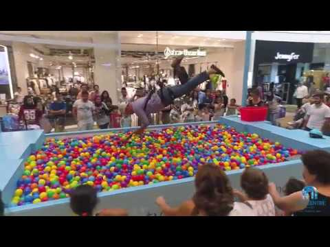 Human Claw Machine at City Centre Beirut