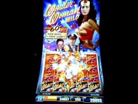 Wonder woman slots in vegas