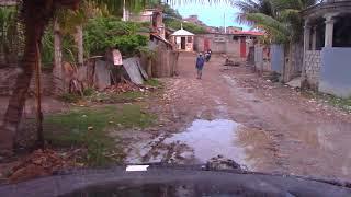 PASTOR CARLOS SOTO EN HAITI CONCILIO EL PARAISO MUCHO FANGO