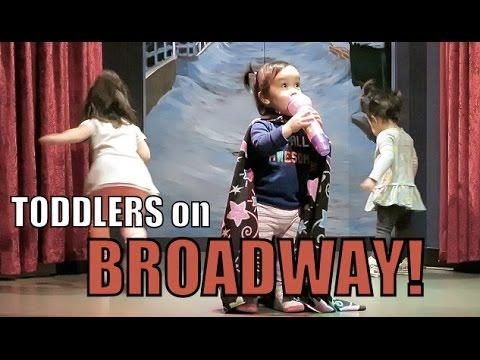 TODDLERS ON BROADWAY! - January 20, 2016 -  ItsJudysLife Vlogs