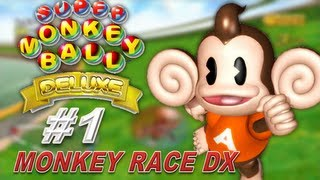 Super Monkey Ball Deluxe - Race (Party Game)