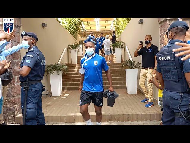 Conferencia de imprensa pôs jogo Cabo Verde 1-2 Nigéria