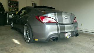Genesis coupe exhaust sound after Tomei m7960 turbo upgrade