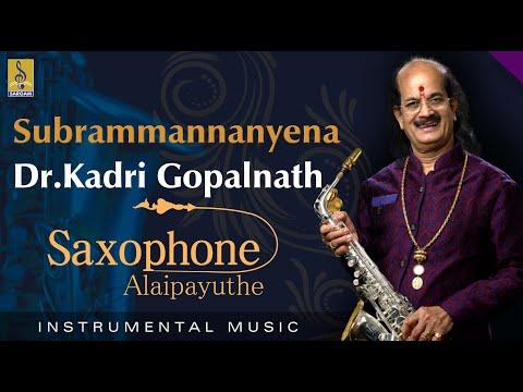 Subrammannanyena - Thrilling Saxophone by Dr Gopalnath