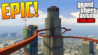 ME COMO EL SEMAFORO!!! - Gameplay GTA 5 Online Funny Moments (Carrera GTA V PS4)
