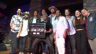 FGL celebrates hits with Backstreet, Bebe