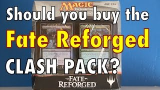 MTG - Should You Buy A Clash Pack for Fate Reforged? Is it a good buy for Magic: The Gathering?