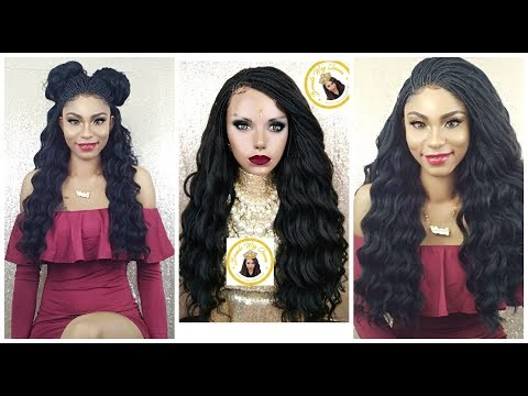 How To: Micro Pick n Drop Box Braid Wig ||Sams Beauty||