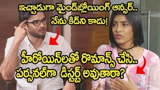 Sudheer Babu About Real Life Vs Profession | Sudheer Babu Interview | Friday Poster Interviews
