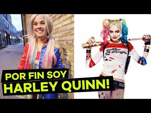 POR FIN ME VISTO COMO HARLEY QUINN!!