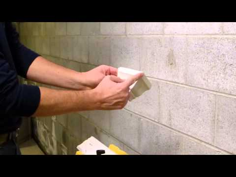 Cutting Crown Molding using a Miter Box- Outside Angle