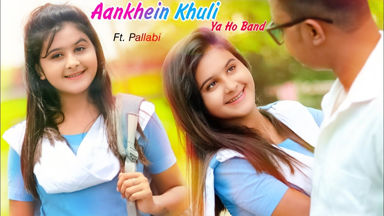 Aankhein khuli ho ya band | Mohabbatein | School Love Story | Shahrukh Khan | New Hindi Song 2020