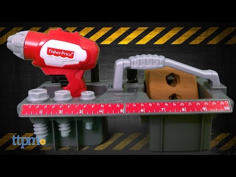 Drillin' Action Tool Set From Fisher-Price