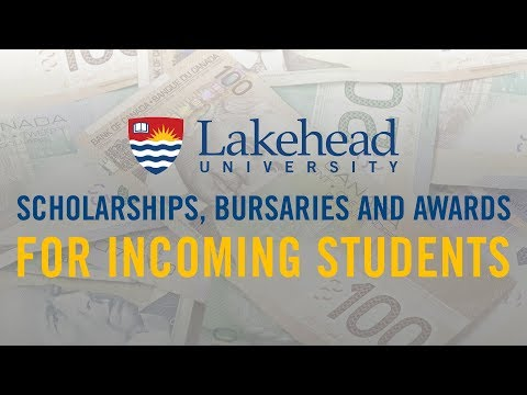 Scholarships, Bursaries and Awards for Incoming Students 2018