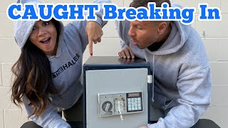 CAUGHT BREAKING IN FOUND SAFE I Bought Abandoned Storage Unit Locker / Opening Mystery Boxes