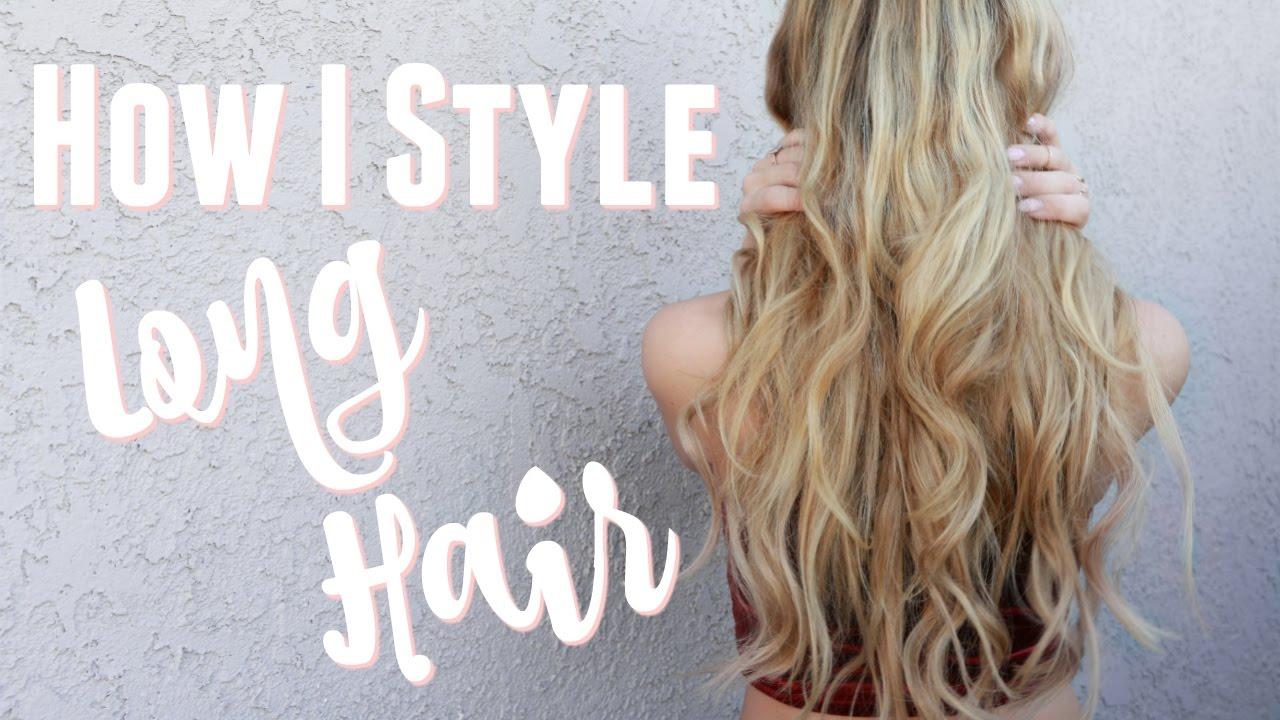 Easy Everyday Hair Big Wavy Curls W Luxy Hair Extensions Youtube